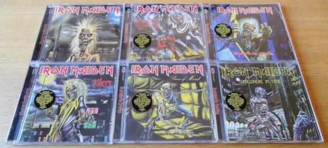 Cd musica iron maiden