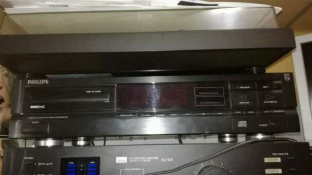 Lettore cd hi-fi philips cd 604