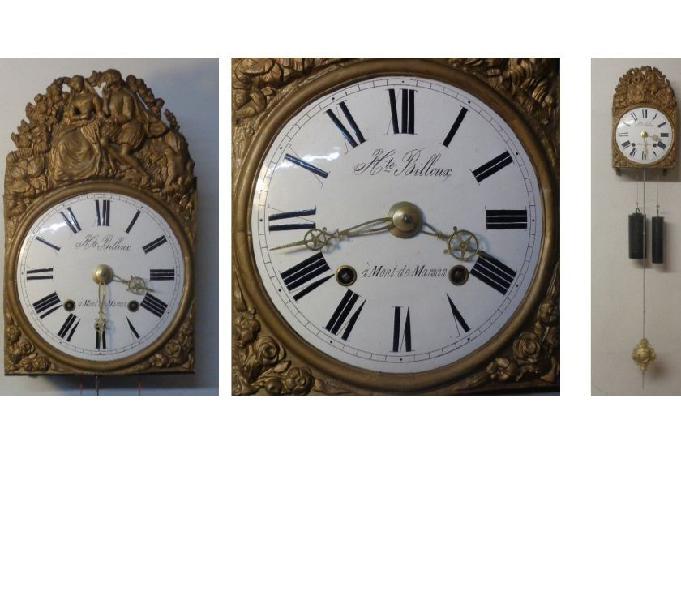 Orologio francese morbier a pendolo funzionante
