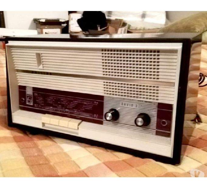 Radio a valvole philips david 3 anni 60