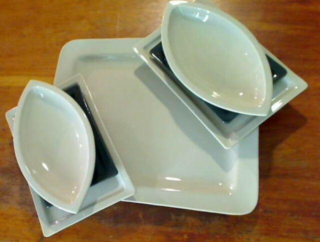 """Servizio piatti tavola 25 pezzi in ceramica """"i patrizi"""""""