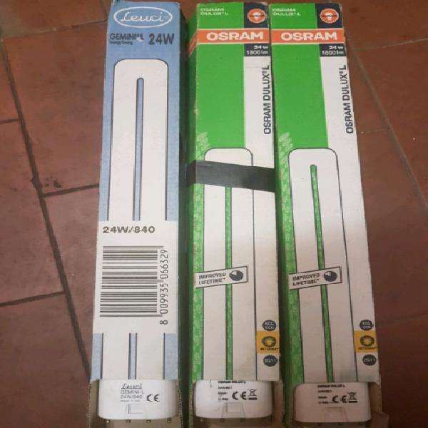 Vendo lampadine dulux l 24w 827k 2g11