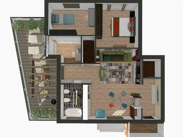 Appartamento di 3 locali vicino al centro box e cantina