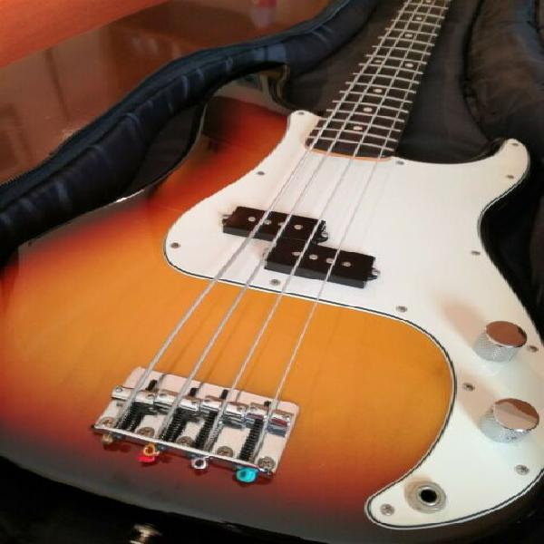 "Basso fender ""precision"" 60th anniversary"