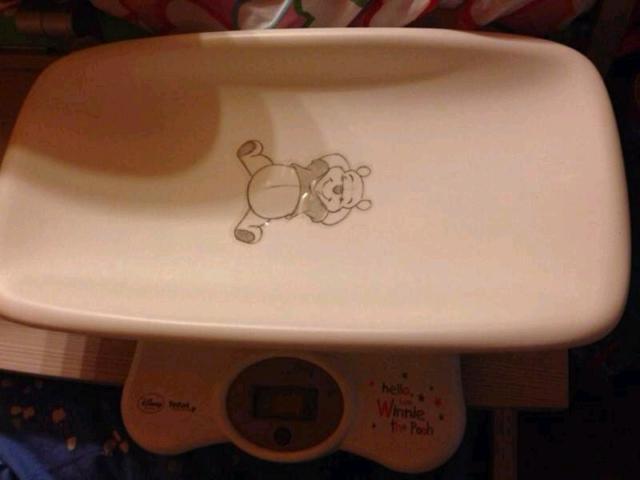 Bilancia neonato bambino tefal winnie the pooh