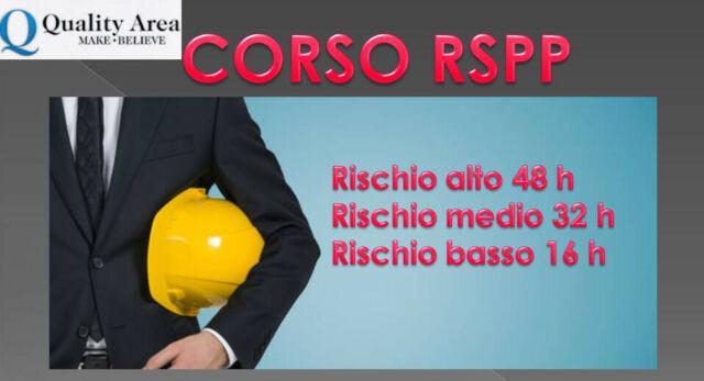 Corso di formazione rspp (sicurezza sul lavoro)-catanzaro