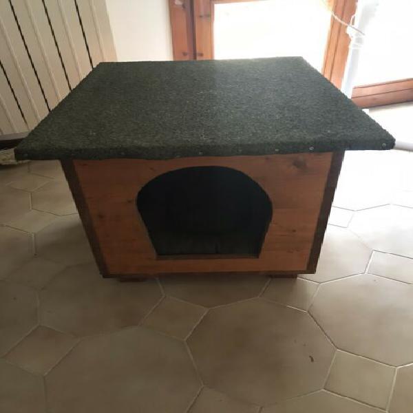 Cuccia in legno cane gatto animali