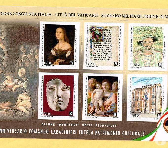 2019 francobolli con codice a barre ecc.