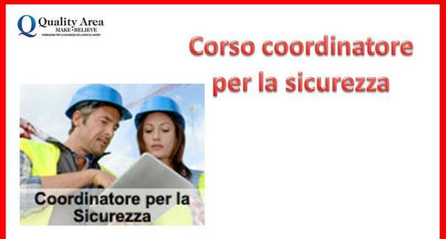 Corso coordinatore (sicurezza sul lavoro)