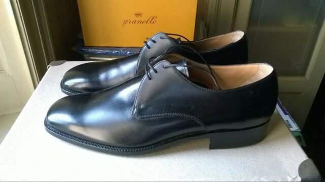 Granello scarpe nuove uomo originali nere