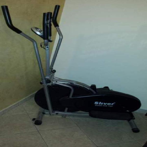 Cyclete ellittica sliver over the top palestra in casa