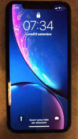 Iphone xr 128gb blue perfetto per iphone xs nero