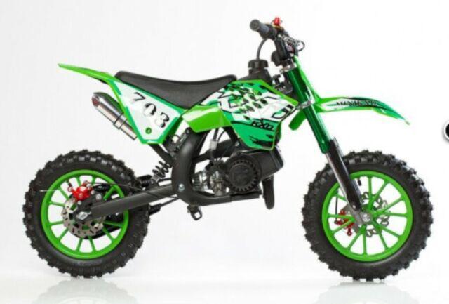 Minicross kxd 702 49cc nuovo