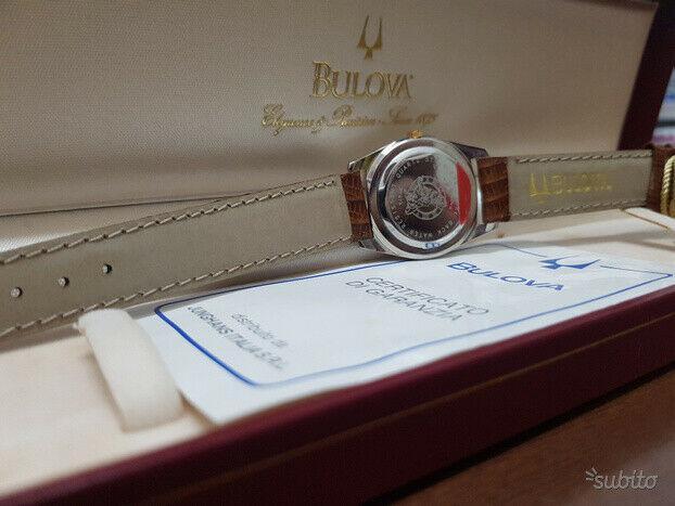 Orologio bulova vintage
