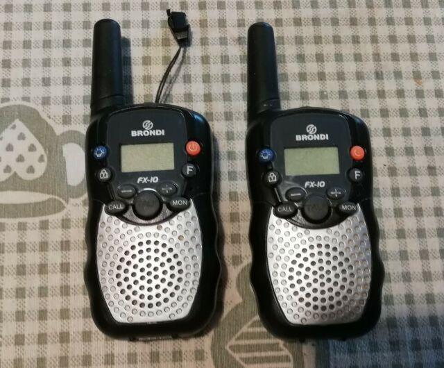 Ricetrasmittenti brondi walkie talkie baracchini radio
