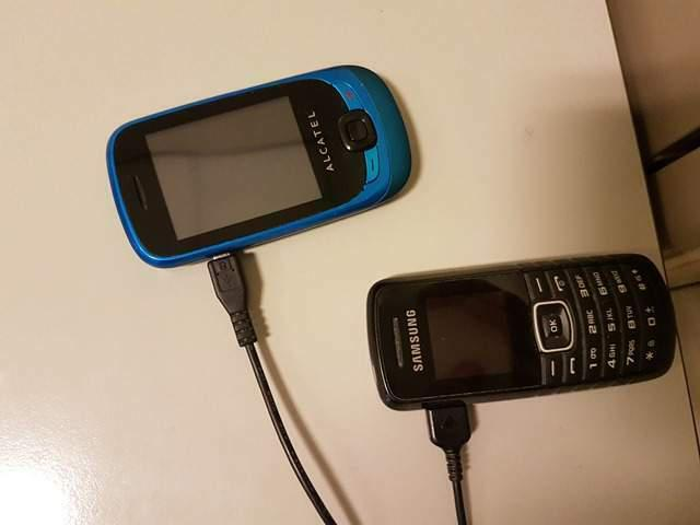 Alcatel one touch 602 + samsung gt e-1080w
