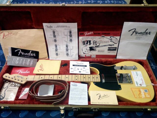 Fender telecaster american vintage 52'