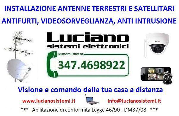 Luciano antennista impianti antenna,anti