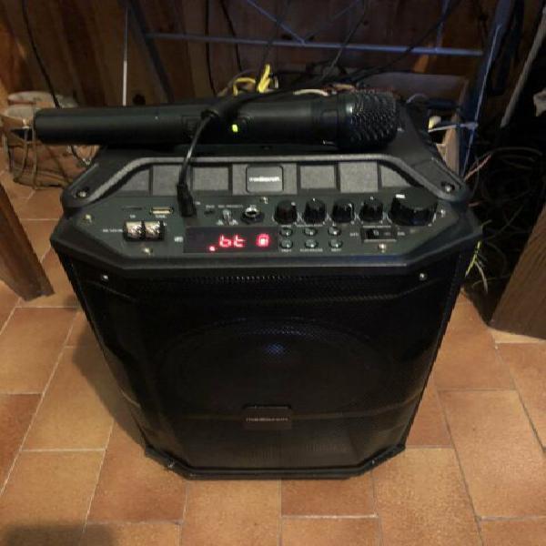 Mediacom music box 90w trolley speaker karaoke