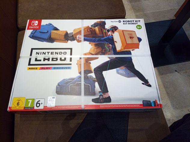 Nintendo switch labo robot gioco nuovo