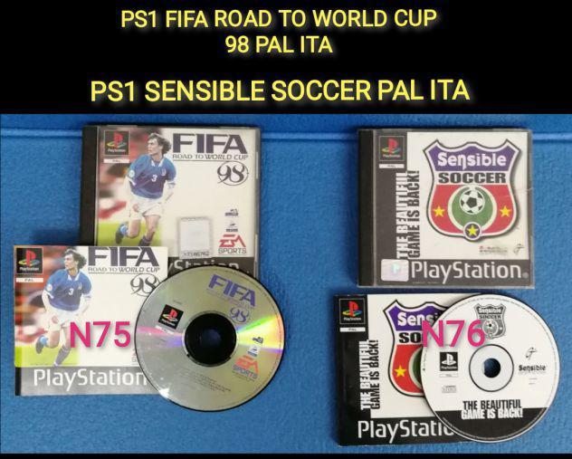 Ps1 fifa road to world cup 98 pal ita