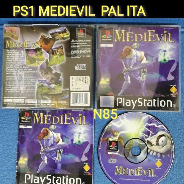 Ps1 medievil pal ita