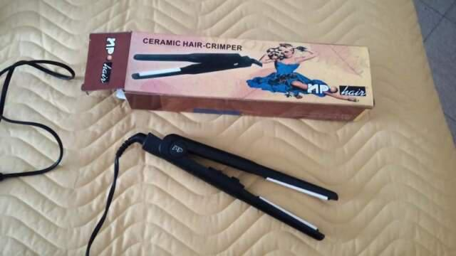 Piastra per capelli in ceramica sottile 1 cm