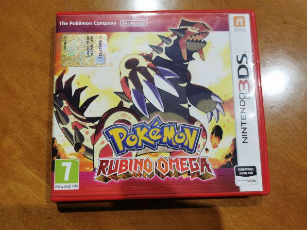 Pokemon rubino omega nintendo 3ds