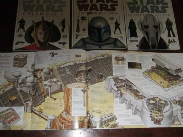 Star wars n.4 libri:1999-2000-2002-2005 vedi