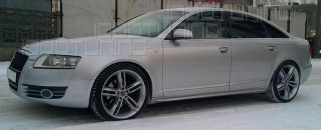 Audi a6 4f c6 2004-2011 avant + berlina minigonne laterali