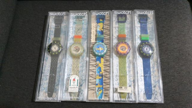 Orologi originali swatch scuba anni 90