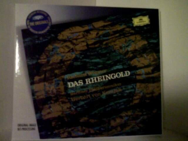 Wagner das rheingold (l'oro del reno) 2 cd karajan dgg