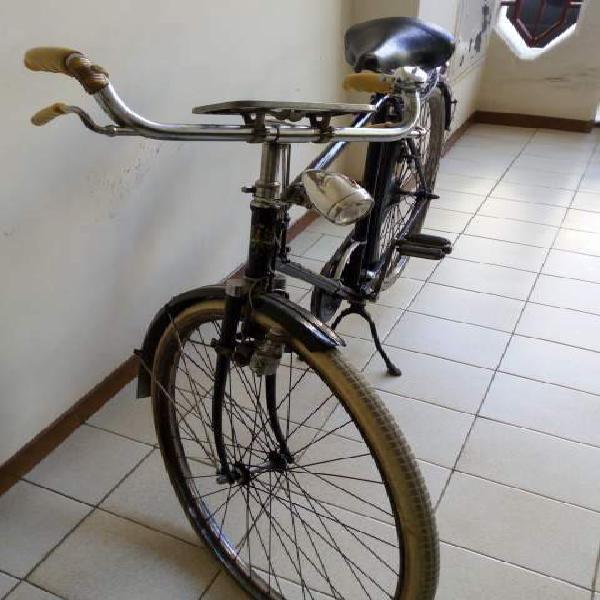 Bicicletta bianchi bacchetta epoca antica conserva