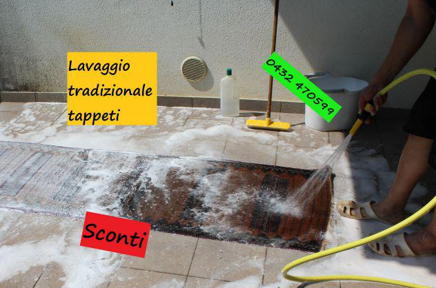 Pulizia e restauro tappeti pordenone, lavaggio tappeto