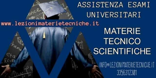 Assistenza esami universitari per l'ingegneria