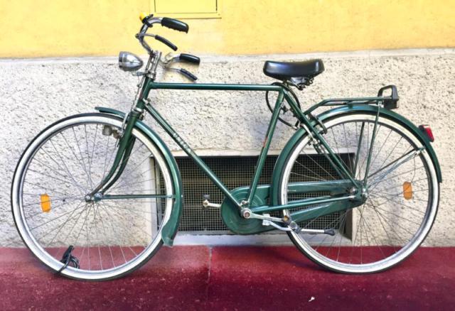 manubrio bici Manubrio vintage da corsa o fixed in alluminio cromato