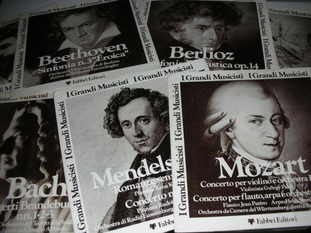 16 + 4 dischi lp vinile musica classica