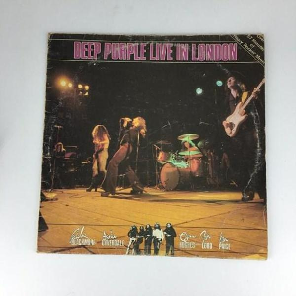 33 giri deep purple live in london emi 3c 064 64877