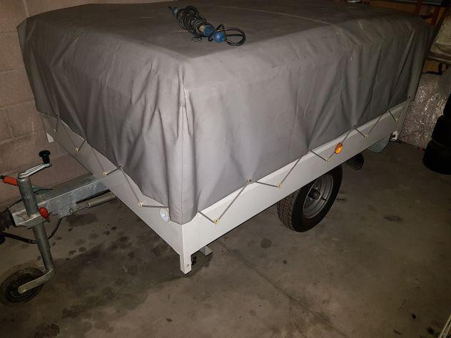 Carrello cassone trasporto cose / carrello tenda 4 persone
