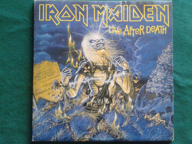 Iron maiden live after death doppio vinile
