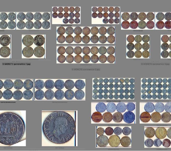 Stock n. 114 monete periodo anni 1908-1995