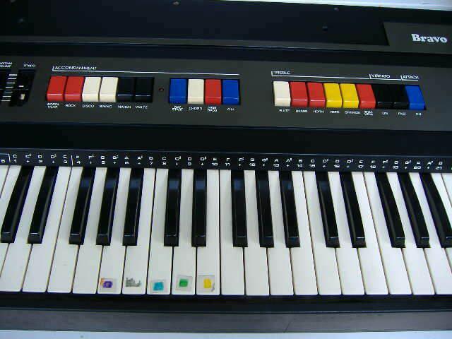 Tastiera elettrica farfisa