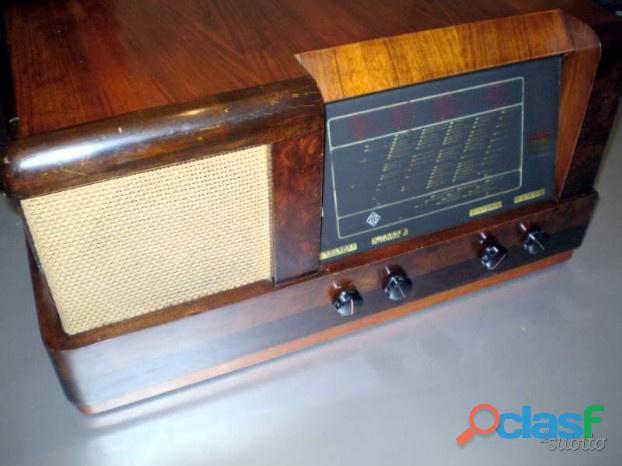 Radio a valvole telefunken 568 del 1938