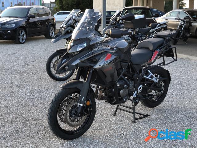 Benelli trk 502 benzina in vendita a melissano (lecce)