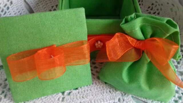 Bomboniera portagioe verde