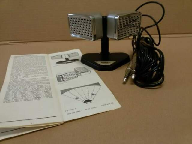 Microfoni stereo philips 8402