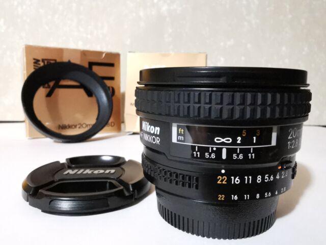 Nikon 20 2,8 afd