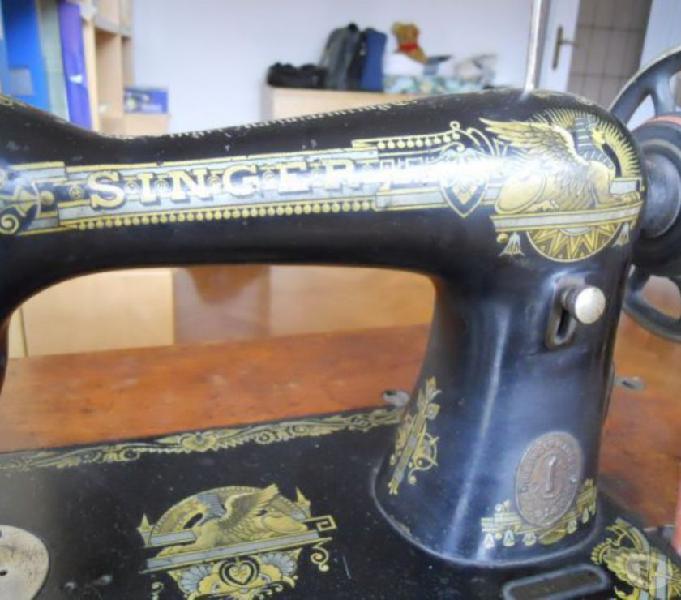 Singer 1918 macchina da cucire a pedale