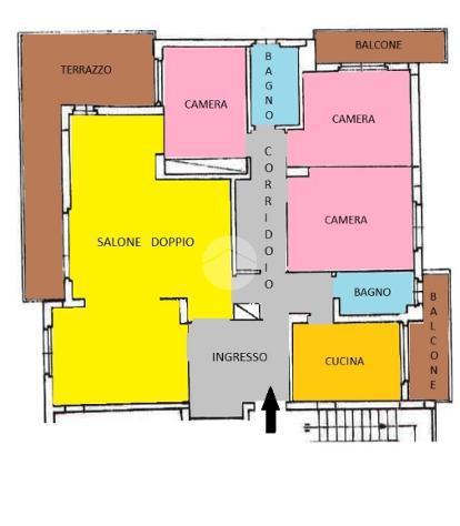4 locali via claudio achillini, roma