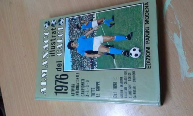 Almanacco del calcio panini 1976